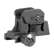 American Tactical Imports Flip Up Rear Sight For AR-15 Black ATIFURS