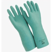 "Ansell Healthcare Sol-Vex Nitrile Gloves, Ansell 117276 33 Cm (13"") Length, 15 Mil Thickness, Flock-Lined"