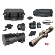 ATN PS22-3P Day/Night Tactical Kit w/ Night Vision Scope Daytime Riflescope