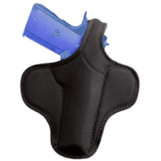 Bianchi 4597 Ranger Shadow Holster - Black, Left Hand 19011