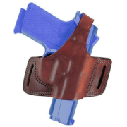 Bianchi 5 Black Widow Holster - Plain Tan, Right Hand 15190