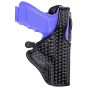 Bianchi 7940 DutyLok Duty Holster - Plain Black, Right Hand 23082