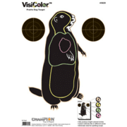Champion Traps and Targets VisiColor Prairie Dog High-Visibility Paper Targets - 45820