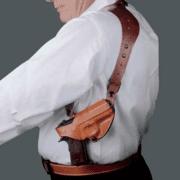 DeSantis C.E.O Shoulder Rig Holster for Smith & Wesson M&P Shield 9/40