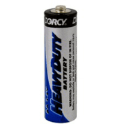 Dorcy AA Mastercell H. D. Batteries - 36 Per Sleeve/ 1 Sleeve 41-1536 - Case of 16