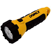 Dorcy 3 AA size Carabineer LED Flashlight w/ Batteries