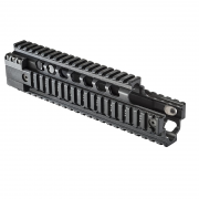 Ergo Grip Z Float Rail System - Carbine Length w/ Overshoot and A2 Front Sight Cut-Out Quad Rail 4813