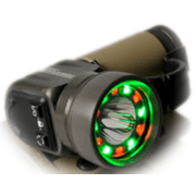First Light Tomahawk CV Flashlight Civilian Light with Red/White/Green Strobe
