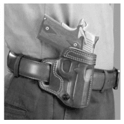 Galco Avenger Belt Holster for Glock 19, 23, and 32