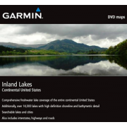 Garmin On the Water Maps GPS MapSource Inland Lakes, Continental United States 010-10774-00