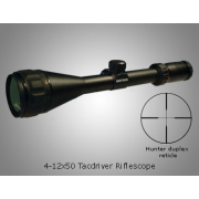 Kruger Optical K 3 4-12x50mm AO TacDriver Riflescope w/ Hunter's Plex Reticle
