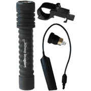 Laser Devices LED / Incandescent OV2 Flashlight w/ Remote Tailcap, Pressure Pad Switch and Mount