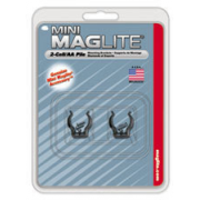 MagLite AM2A496 Mini MagLite AA Flashlight Mounting Brackets (2/Pkg.)