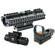 Ncstar 3RS 3-9x42 RifleScope, 3 Rail Sighting System