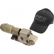 L-3 EOTech Tan OPMOD EXPS2 MPO3 65 MOA ring and 1MOA dot Holosight, G33 Magnifier