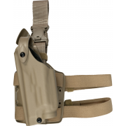 Safariland SLS Tactical Holster - STX FDE Brown, Left 6004-8314-552