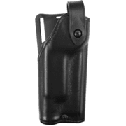 Safariland 6280 Level II Retention, Mid-Ride Holster - Plain Black, Right Hand 6280-5340-61