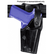 "Safariland 6285 1.50"" Belt Drop, Level II Retention Holster - STX Tactical Black, Right Hand 6285-848-131"