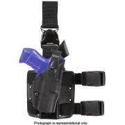 Safariland 6305 ALS Tactical Holster w/ Quick Release Leg Harness - STX TAC Black, Right Hand 6305-832-131