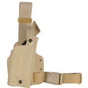 Safariland 6004 SLS Tactical Holster - STX FDE Brown, Right Hand 6004-7700-551