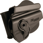 Sig Sauer Paddle Retention Holster With Integrated Magazine Pouch For P232 Only Black Polymer Right Hand HOLRPR232IMPBLK