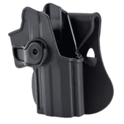 Sig Sauer Retention Roto Paddle Holster For Smith and Wesson M&P 9mm/.40 Black Right Hand ITAC-MP1