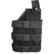 Uncle Mike's Law Enforcement Universal Holster w/ Molle System - Black or OD Green, 7702001, 7702002