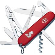 Victorinox Angler Swiss Army Knife Red
