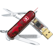 Victorinox SwissFlash Laser Swiss Army Flash Drive - Victorinox Swiss Army Knives USB Flash Drives