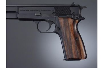 Hogue Browning Hi-Power Handgun Grip Rosewood 09910