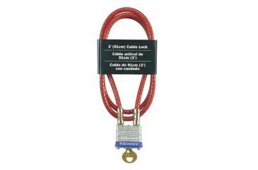 master lock master lock 3ft cable 470 719. Black Bedroom Furniture Sets. Home Design Ideas