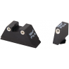 Ameriglo Night Sight Set Tall Suppressor Style For All Glock Models - Front & Rear Sight