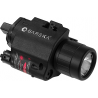 Barska 5mW Red Laser Sight/Flashlight Combo w/ 200 Lumens