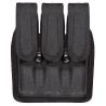 Bianchi 7345 AccuMold Triple Mag Pouch Slimline Series, Black