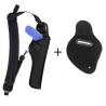 Bianchi 4100 Ranger HuSH System Holster - Black, Right Hand 14254