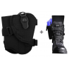 Bianchi 4750 Ranger Triad Ankle Holster - Black, Right Hand 19742