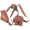 Bianchi X16 Agent X Shoulder System (Unlined) - Plain Tan, Right Hand 17374