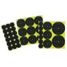 Birchwood Casey Shoot-N-C Bullseye Packs 60-1 Inch, 30-2 Inch, 20-3 Inch 10 Sheets Per Pack 34608