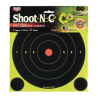 Birchwood Casey Shoot-N-C Targets 8 Inch Round Bullseye 6 Targets 24 Pasters 34805