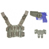 BlackHawk S.T.R.I.K.E. SERPA Combo Kit - Shoulder & Drop-Leg Holster for Beretta M9/92 ONLY