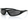 Bobster Blackjack 2 Series Eyewear - Convertible Black Frame Sunglasses/Goggles BBJ201