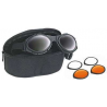 Bobster BugEye II Interchangeable Goggles w/ Black Frame, Foam Seal BA2C31AC