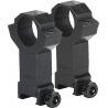 BSA Optics Assault Style Rings Steel