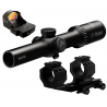 Burris FastFire Combo - MTAC 1-4x24 Riflescope, FastFire III Reflex Sight, PEPR Mount
