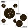 "Champion Target Champion 8"" Visicolor Paper Targets 10 Pack 45827"