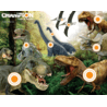 Champion Traps and Targets Full-Color Targets Dinosaur 11x14 Inches 12 Per Package 01003797