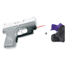 Crimson Trace Front Activation Compact Laser Guard for Kahr Fire Arms PM9, PM440. P9, P40 - LG 437