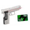 Crimson Trace LaserGrip Polymer Laser Sight Grip for Springfield XD(M) Full-Frame Handguns