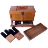 DAC Technologies Universal Gun Cleaning Kit w/ Wooden Toolbox - 17 Piece