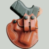 DeSantis Left Hand Tan Cozy Partner Holster 028TBR8Z0 - KAHR P380